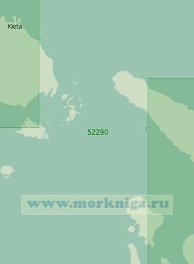 52290 Пролив Бугенвиль с подходами (Масштаб 1:250 000)