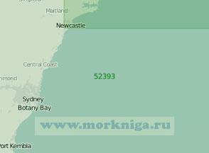 52393 От Порт-Кембла до порта Ньюкасл (Масштаб 1:300 000)