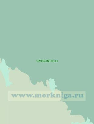 52909-INT9011 От мыса Белоусова до островов Терра-Нова (Масштаб 1:200 000)