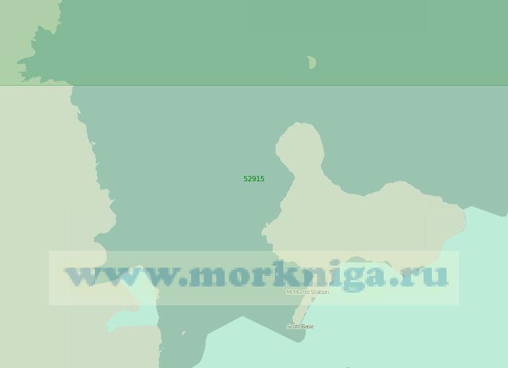 52915 Море Росса. Пролив Мак - Мердо (Масштаб 1: 250 000)