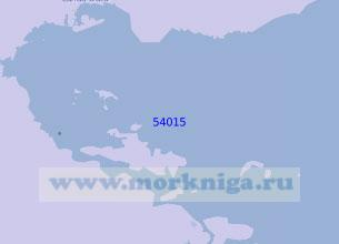 54015 Залив Дарвел (Масштаб 1:100 000)