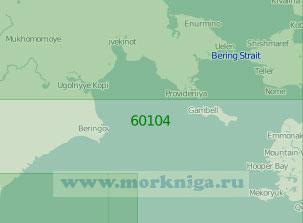 60104 Северная часть Берингова моря (Масштаб 1:2 000 000)