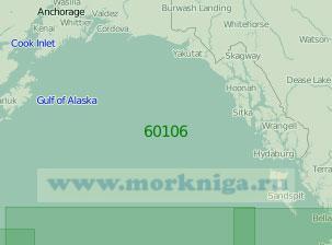 60106 От острова Кадьяк до островов Королевы Шарлотты (Масштаб 1:2 000 000)