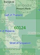60124 Юго-западная часть Южно-Китайского моря (Масштаб 1:2 000 000)