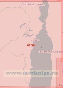 61004 Северная часть Татарского пролива и Амурский лиман (Масштаб 1:500 000)