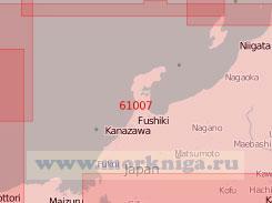 61007 От мыса Осима до мыса Нагао (Масштаб 1:500 000)