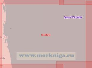 61020 От селенья Пограничное до залива Пильтун (Масштаб 1:500 000)