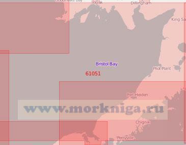61051 Бристольский залив (Масштаб 1:500 000)