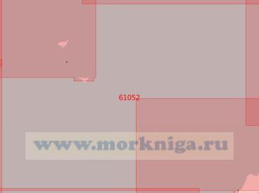 61062 От острова Уналашка до островов Шумагина (Масштаб 1:500 000)