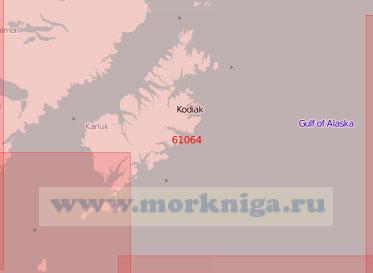 61064 Остров Кадьяк (Масштаб 1:500 000)
