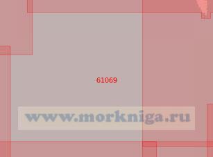 61069 От 53°34'N до 56°27'N, от 141°12'W до 134°26'W (Масштаб 1:500 000)