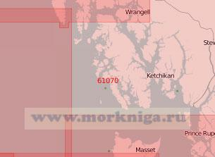 61070 От мыса Чирикова (Оммани) до острова Грейем (Масштаб 1:500 000)