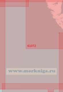 61072 От подводной горы Бауи до подводной горы Юнион (Масштаб 1:500 000)