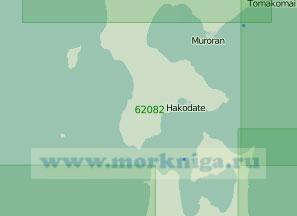 62082 Подходы к проливу Цугару (Сангарский) (Масштаб 1:300 000)