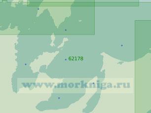 62178 Заливы Александры, Академии и Тугурский (Масштаб 1:250 000)