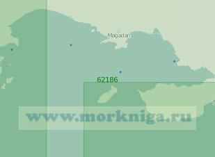 62186 Тауйская губа (Масштаб 1:250 000)