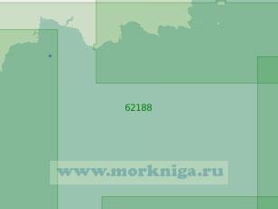 62188 От мыса Евреинова до мыса Толстой (Масштаб 1:250 000)