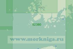 62380 Пролив Чеджу (Масштаб 1:250 000)