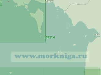 62514 От бухты Ратьзя до бухты Реам (Масштаб 1:200 000)