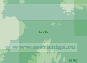 62736 Подходы к заливу Кука (Масштаб 1:200 000)