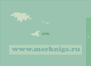 62761 От острова Атту до острова Булдырь (Масштаб 1:250 000)
