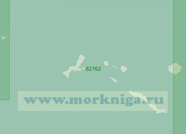 62762 Острова Крысьи (Масштаб 1:250 000)