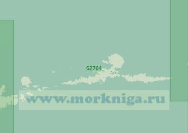 62764 От острова Адак до острова Амля (Масштаб 1:250 000)