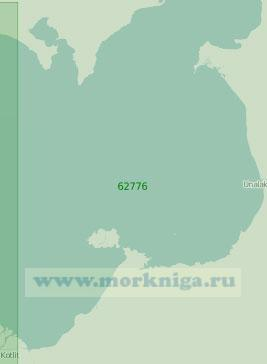 62776 Восточная часть залива Нортон (Масштаб 1:250 000)