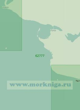 62777 От порта Ном до мыса Принца Уэльского (Масштаб 1:250 000)