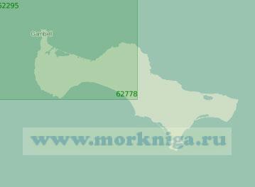 62778 Остров Святого Лаврентия (Масштаб 1:250 000)