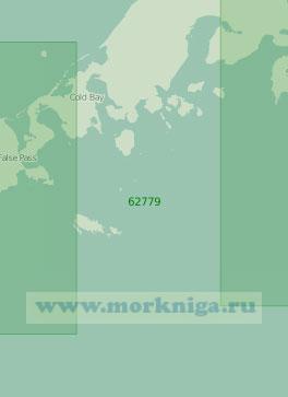 62779 От острова Унимак до острова Унга (Масштаб 1:250 000)