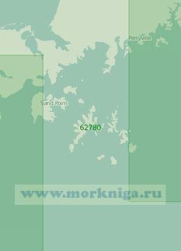 62780 Острова Шумагина (Масштаб 1:250 000)