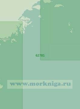 62781 От острова Тяхкинак до острова Сутвик с островами Семиды (Масштаб 1:250 000)