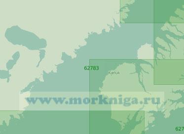 62783 Пролив Шелихова (Масштаб 1:250 000)