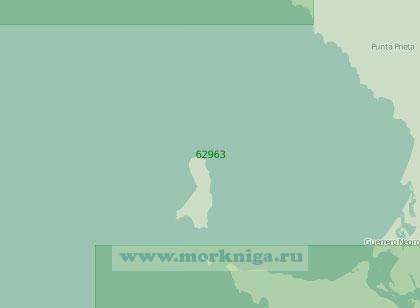 62963 Бухта Себастьян-Вискаино с островами Седрос и Сан-Бенито (Масштаб 1:250 000)