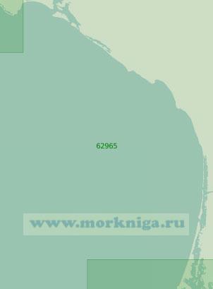 62965 От мыса Абреохос до мыса Сан-Ласаро (Масштаб 1:250 000)