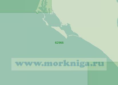 62966 От мыса Сан-Ласаро до мыса Маркес (Масштаб 1:250 000)