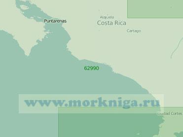 62990 Заливы Коронадо и Никоя (Масштаб 1:250 000)