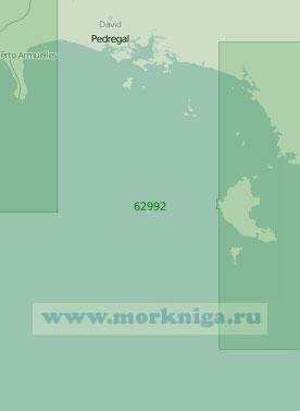 62992 От мыса Бурика до острова Койба (Масштаб 1:250 000)