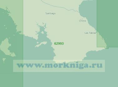62993 От острова Койба до мыса Пунта-Мала (Мала) (Масштаб 1:250 000)