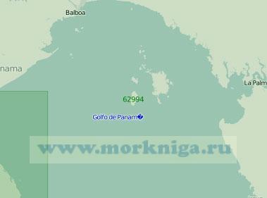 62994 Северная часть Панамского залива (Масштаб 1:250 000)