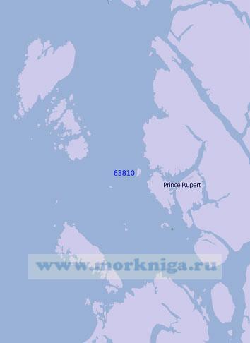 63810 Пролив Чатем-Саунд (Масштаб 1:100 000)