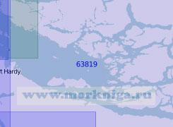 63819 Пролив Королевы Шарлотты (Масштаб 1:100 000)