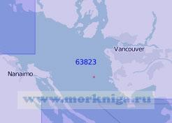 63823 От островов Торманби до бухты Берч с портом Ванкувер (Масштаб 1:100 000)