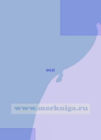 64132 От параллели 56°29' N до острова Птичий