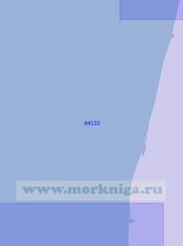 64133 От устья реки Кисун до параллели 56°33'N