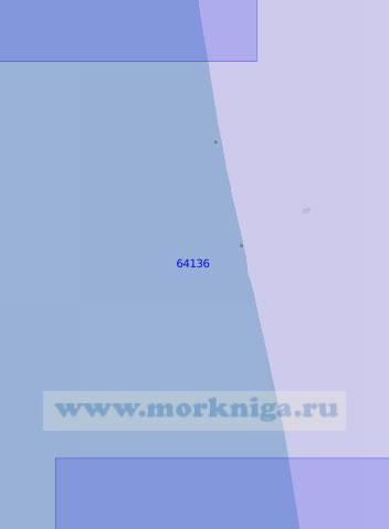64136 От устья реки Кехта до устья реки Брюмка (Масштаб 1:100 000)