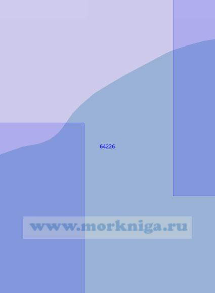 64226 От мыса Хайидин до устья рек Майна и Пилгын (Масштаб 1:100 000)
