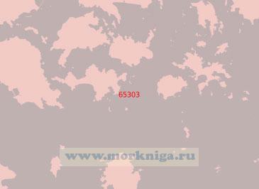 65303 Проливы Чанджинно и Чангодо-Судо с подходами (Масштаб 1:50 000)