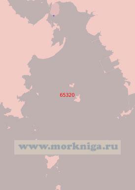 65320 Подход к порту Хэджу (Масштаб 1:50 000)